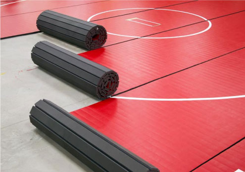 Rollout Wrestling Mats for Schools and Tournaments